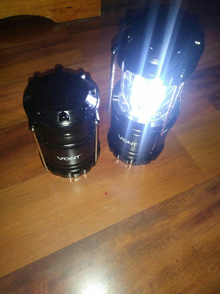 Vont led camping lights