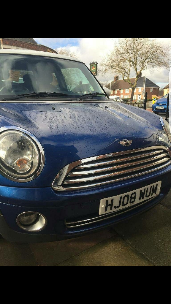 Mini Cooper 1.6 petrol 3 door hatch 2008
