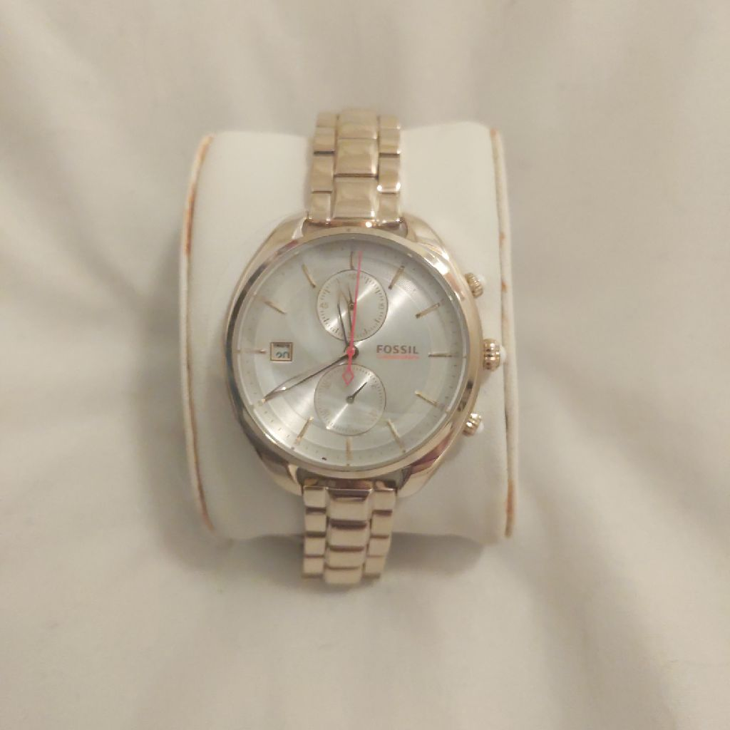 Fossil Woman's Metallic Gold Watch