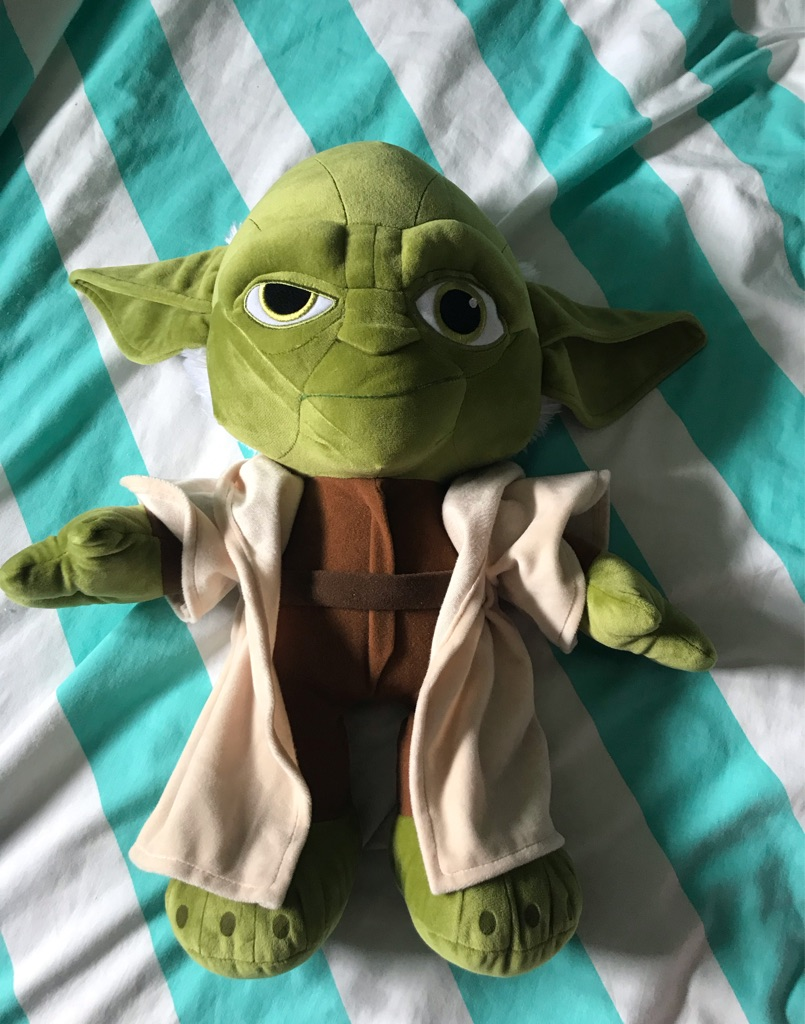 Yoda soft teddy