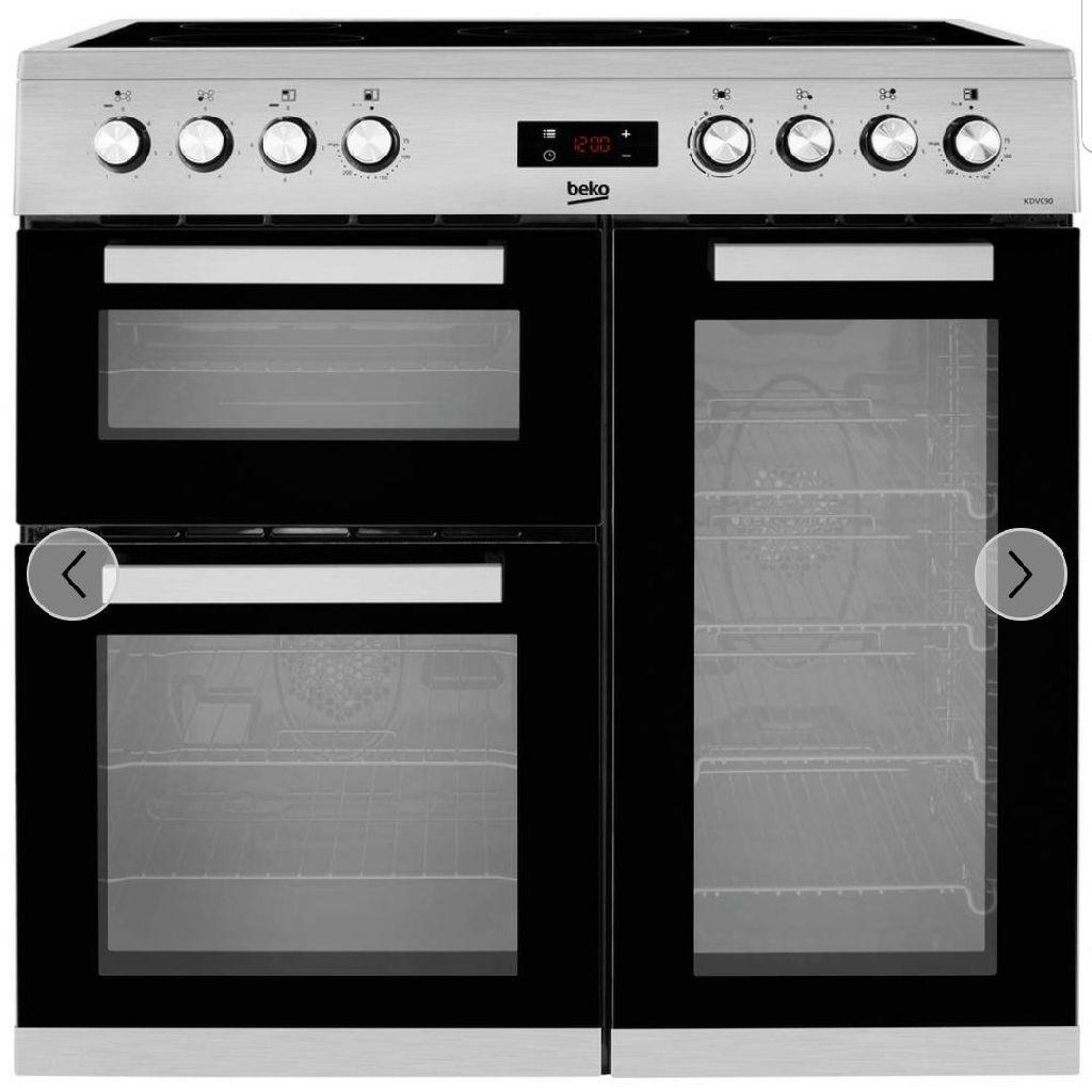 Dual range cooker 90cm