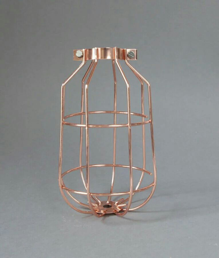 ROSE GOLD LIGHT CAGE