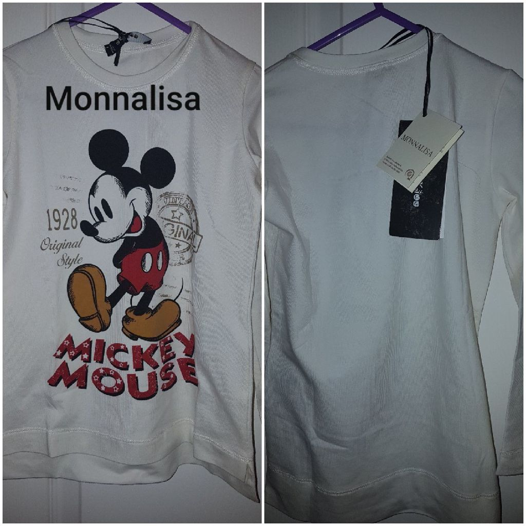 Monnalisa Mickey T shirt