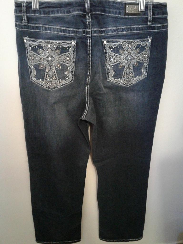 Earl Jeans w/Bling Pockets