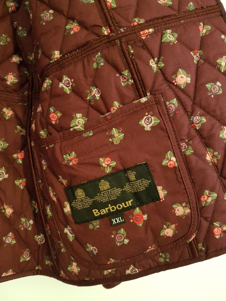 Barbour Girls Liddesdale quilted jacket