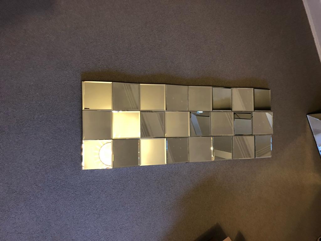 Modern mirror - excellent condition