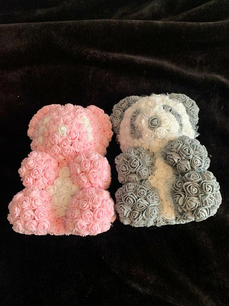 Foam rose teddies
