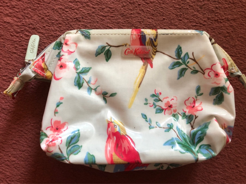 Women's cath kidston make up bag