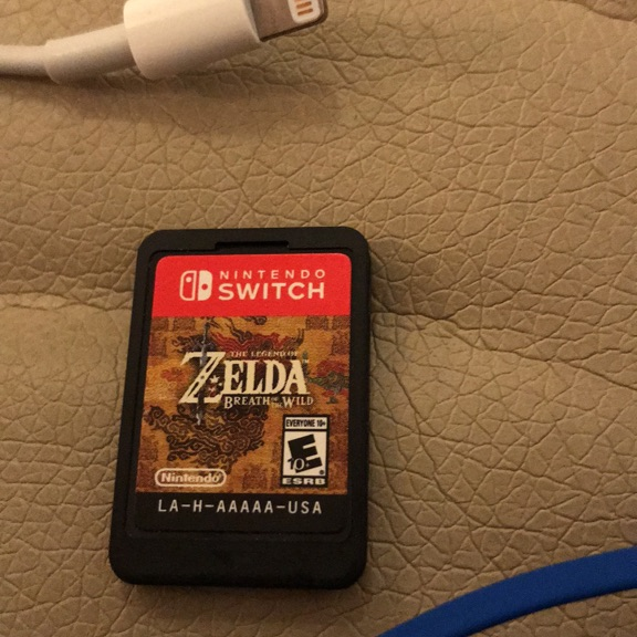 Zelda game for Nintendo switch