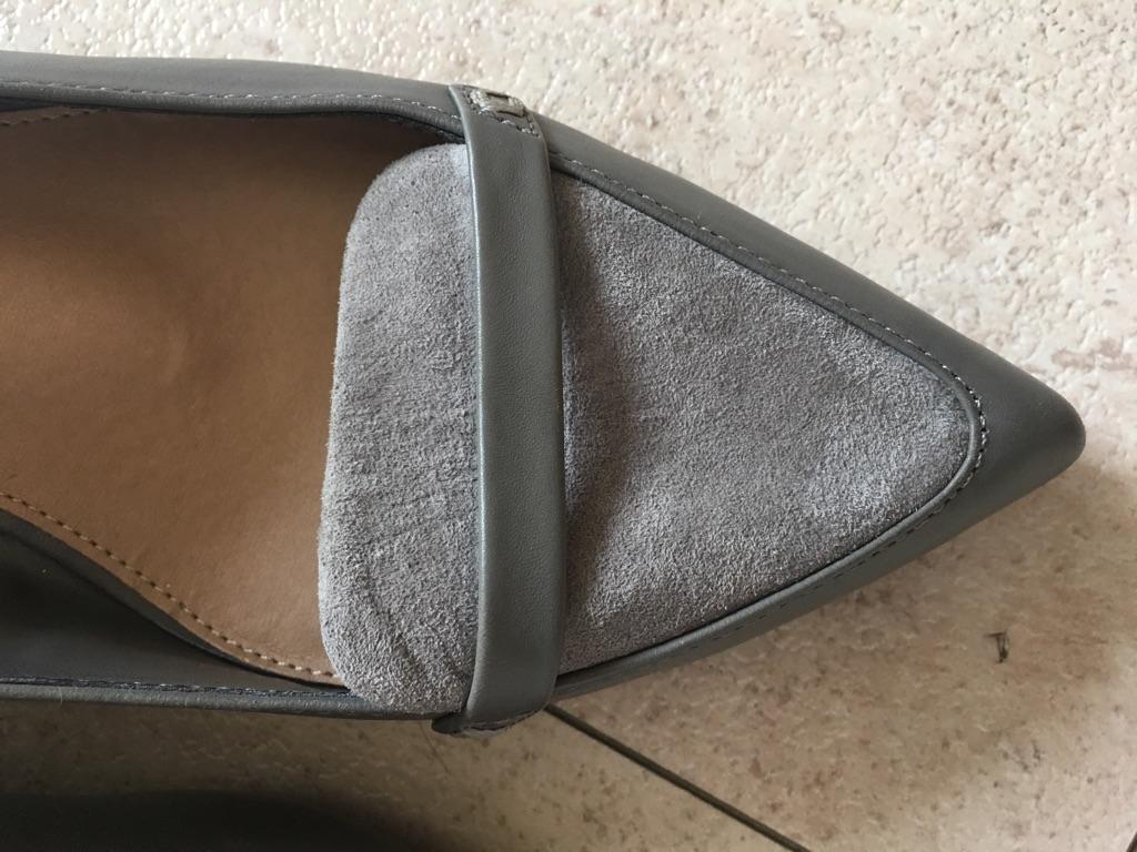Brand new grey leather