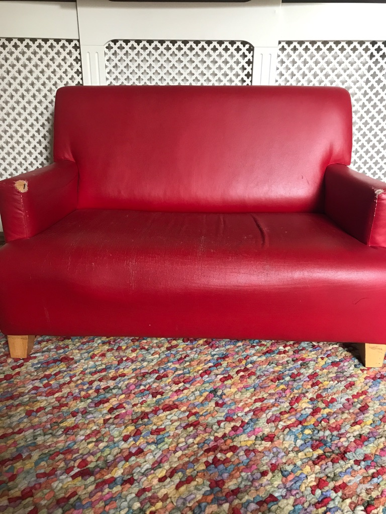 Kids room 2 seater sofa