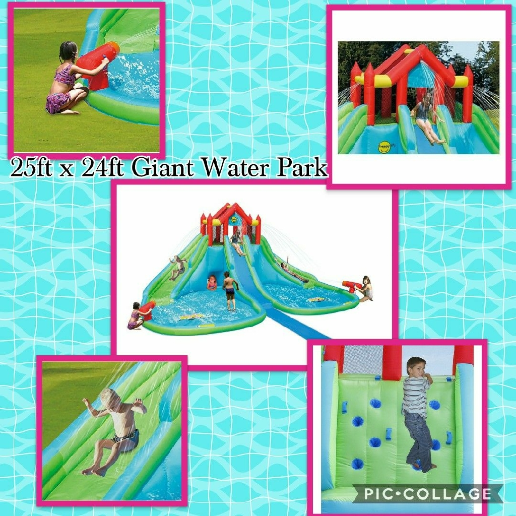 25ft x 24ft Giant Water Park