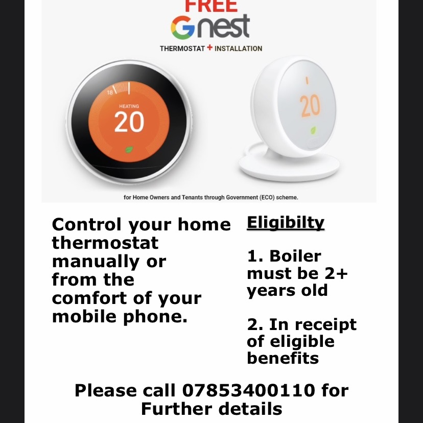 Free google nest thermostat