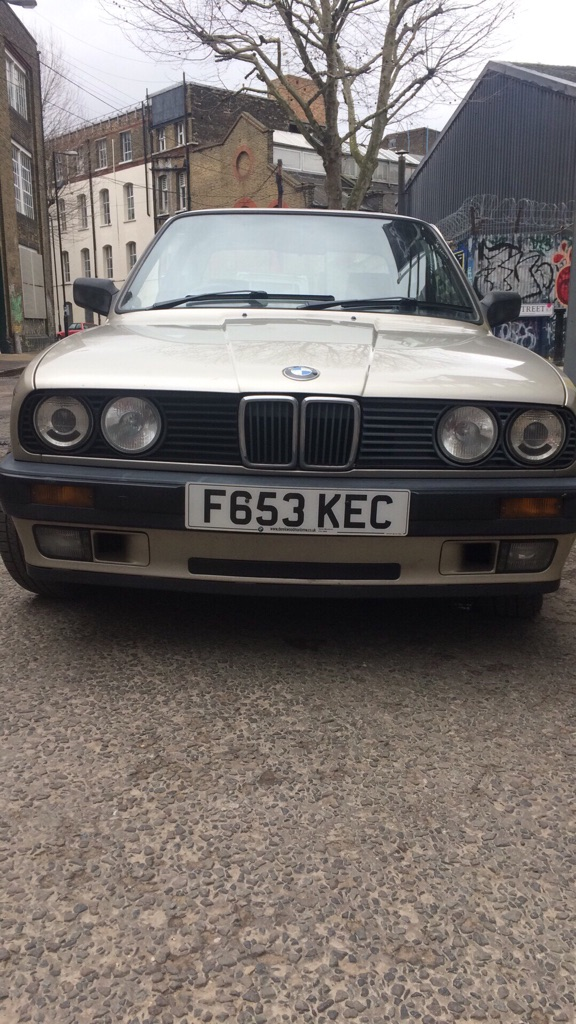 BMW 3 series 1989