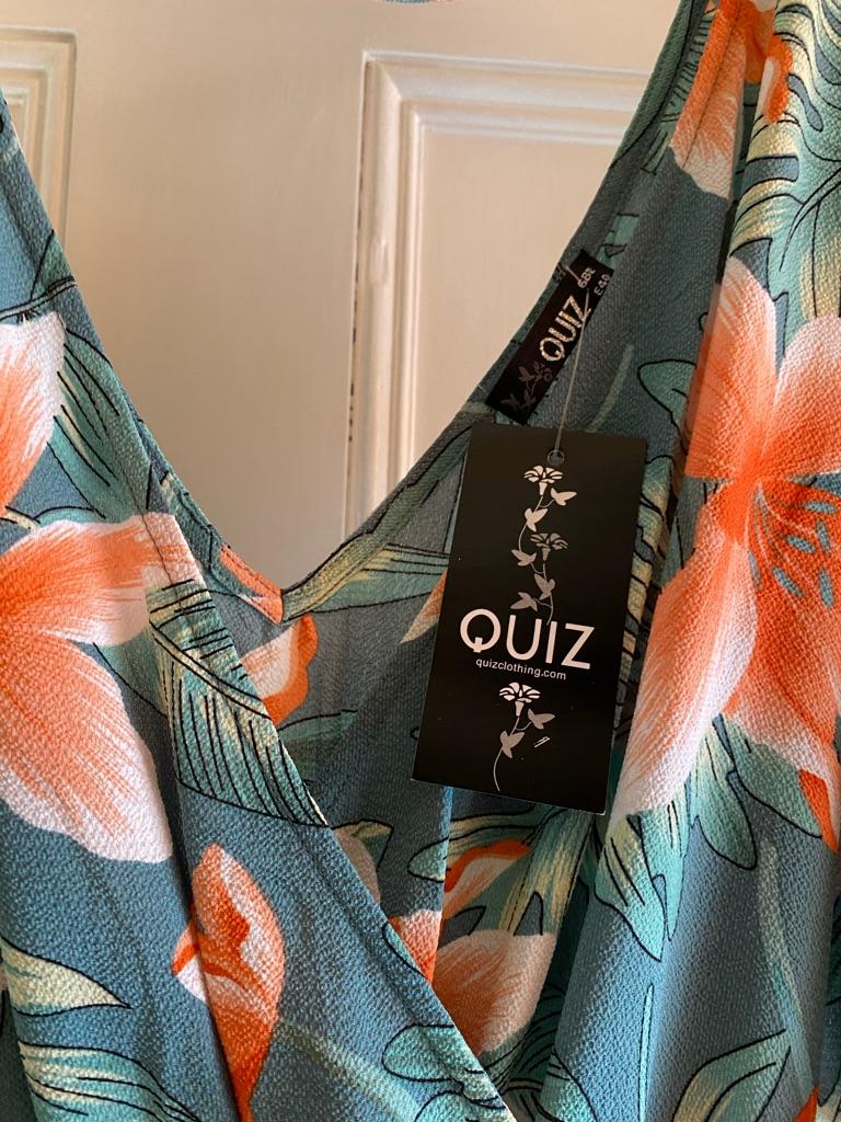 Quiz colourful playsuit