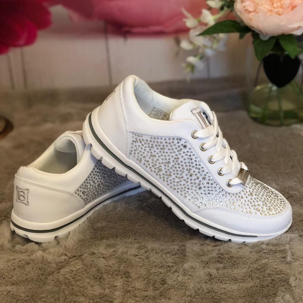 White Laura Biagiotti sneakers
