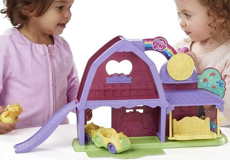 DEAL OF THE DAY!! WAS 19.99 NOW 9.99 FOR TODAY ONLY  MY LITTLE PONY - APPLEJACK ACTIVITY BARN AND VEHICLE