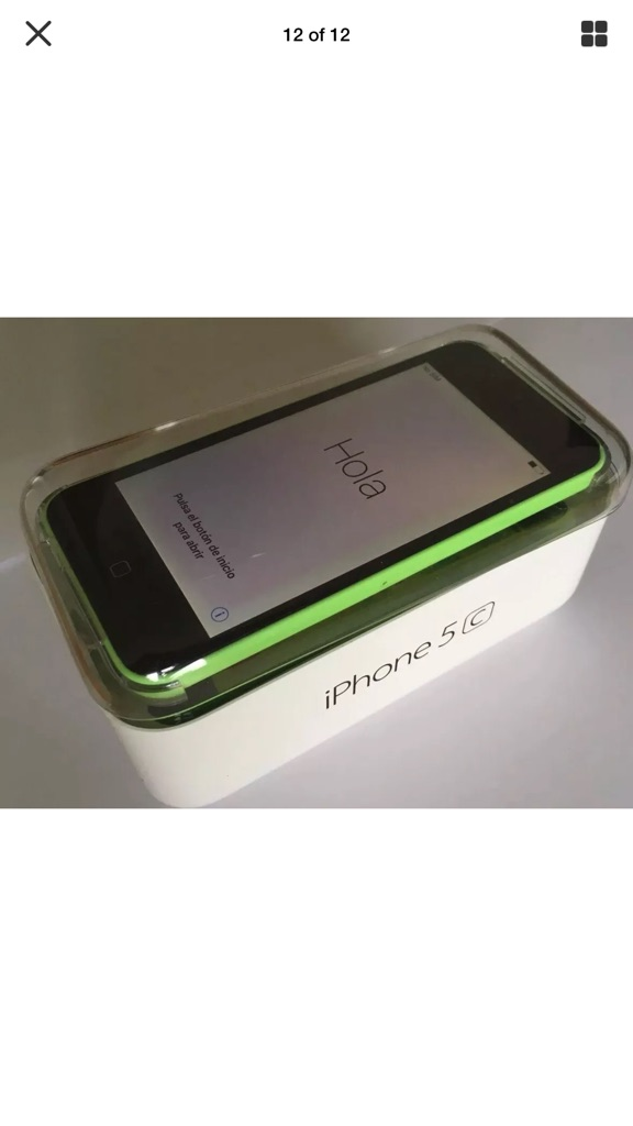 I Phone 5c Boxed with accessories