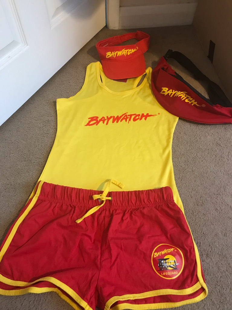 Fancy dress bay watch size 8/10