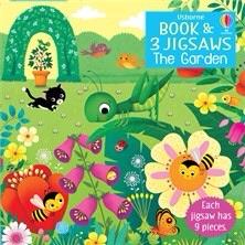 Garden Jigsaw and Book