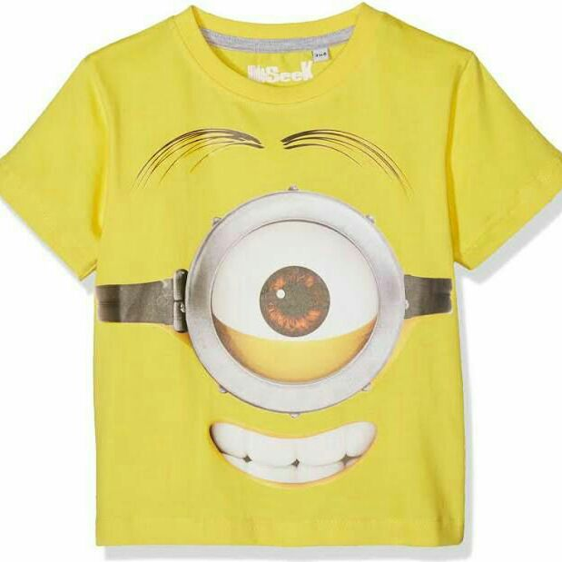 Hide & Seek Minions Boy's T-Shirt RRP £13