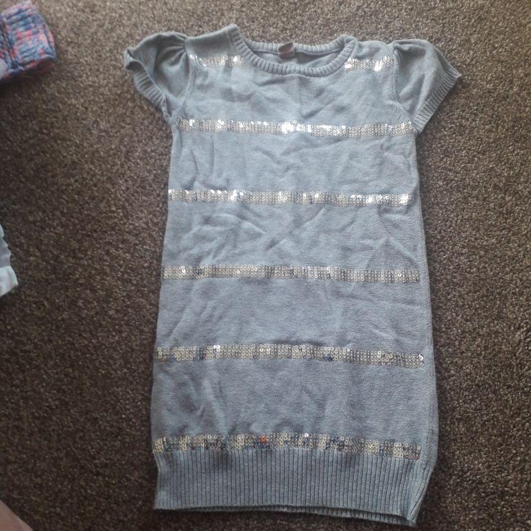 Girls jumper dress