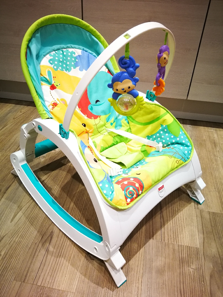 Fisher Price Rainforest Rocker Chair up to 18 kg