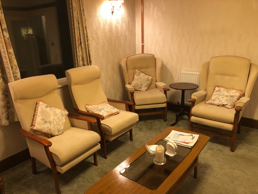 4 Parker Knoll style chairs