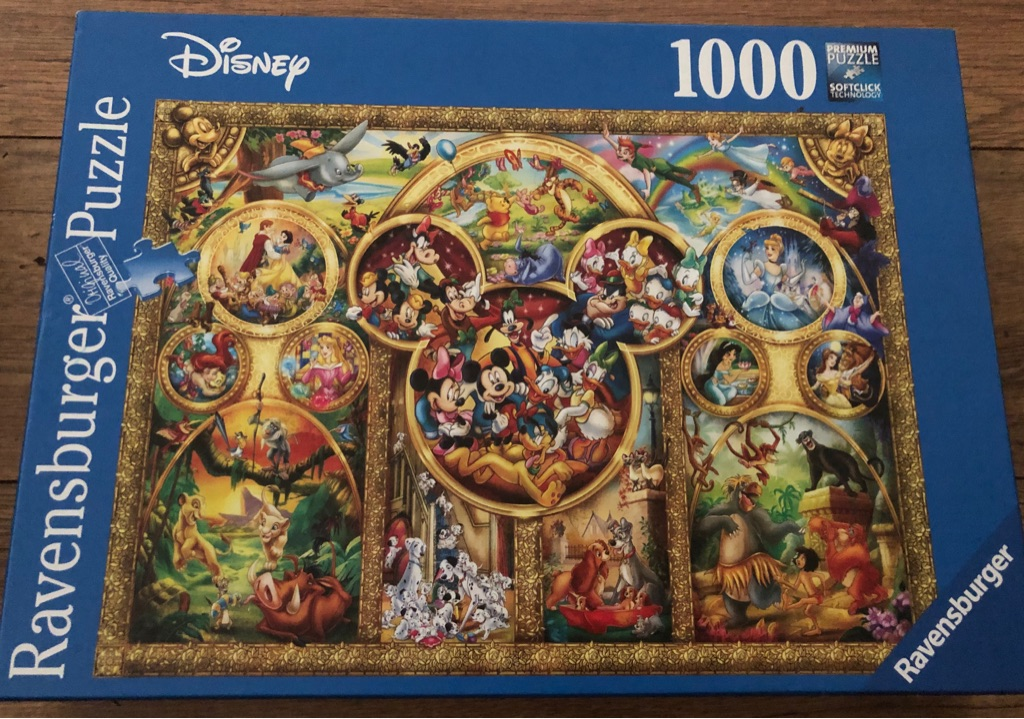 Ravensburger Disney 1000 Premium Puzzle with soft click technology