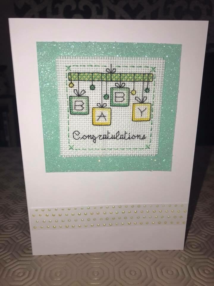 Handmade New Baby Cards