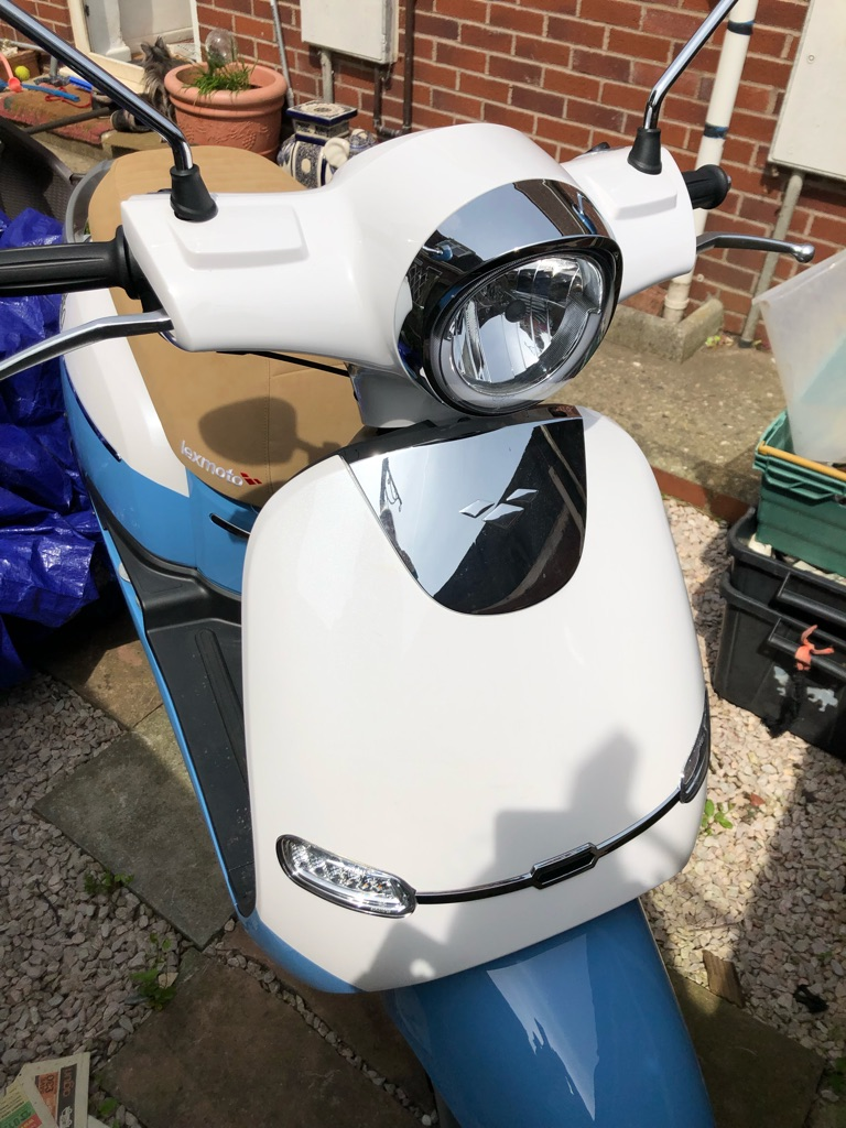 Lexmoto Valletta scooter 125