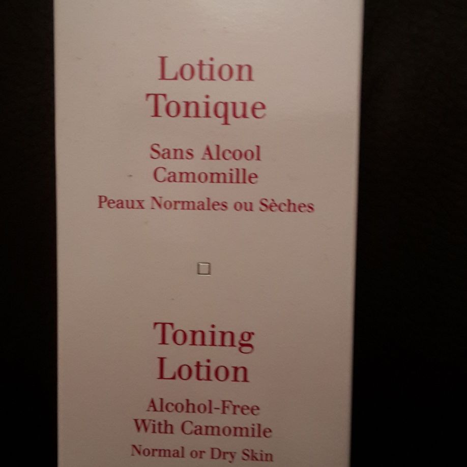 Clarins Toning Lotion 200ml Brand New