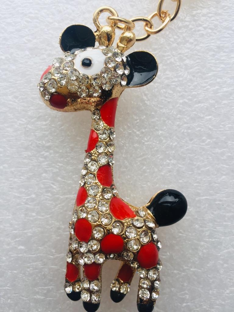 Keys ring holder with giraffe ### 1