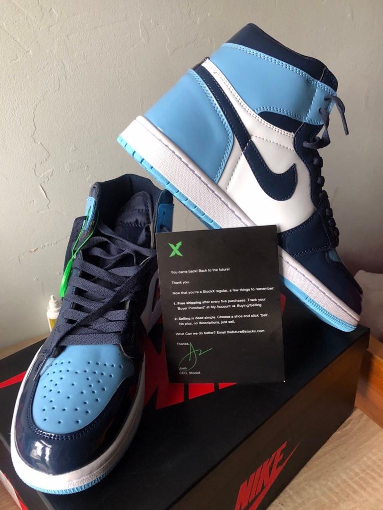Jordan 1 Blue Chill.