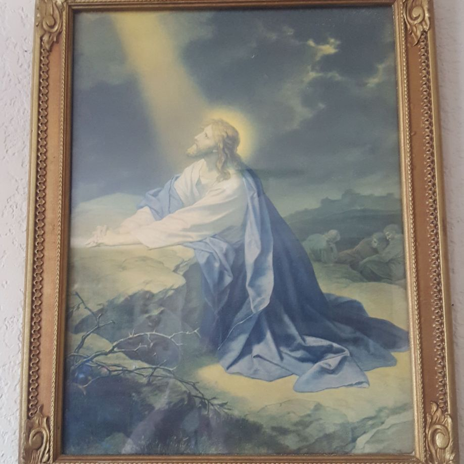 Jesus picture and Great Frame