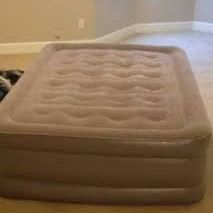 Sable inflatable double bed