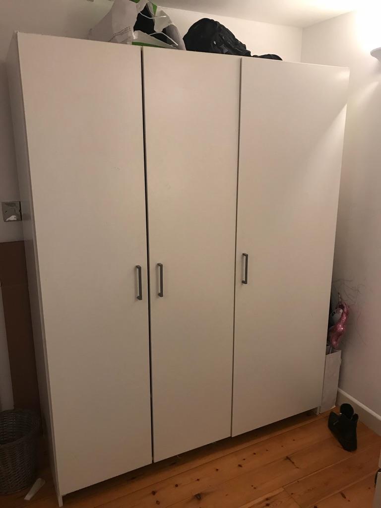 Triple door Ikea wardrobe