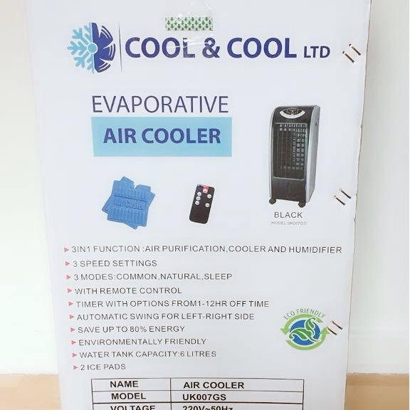 Evaporative Air cooling Technology