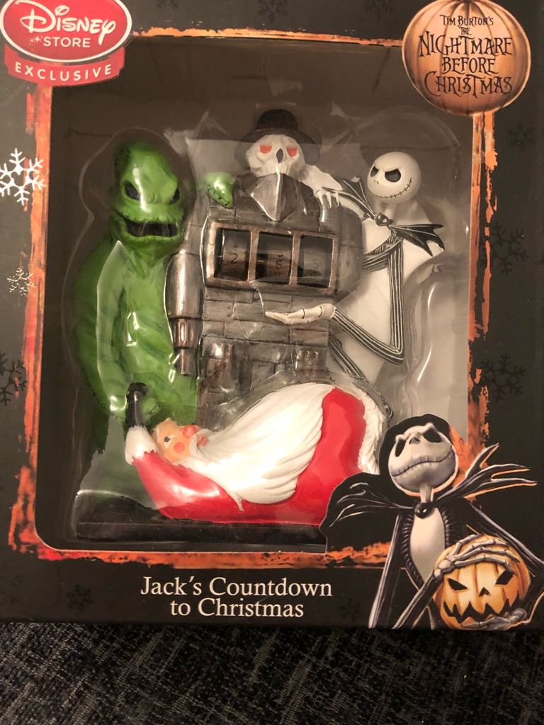 Nightmare before Christmas count down clock  Brand new