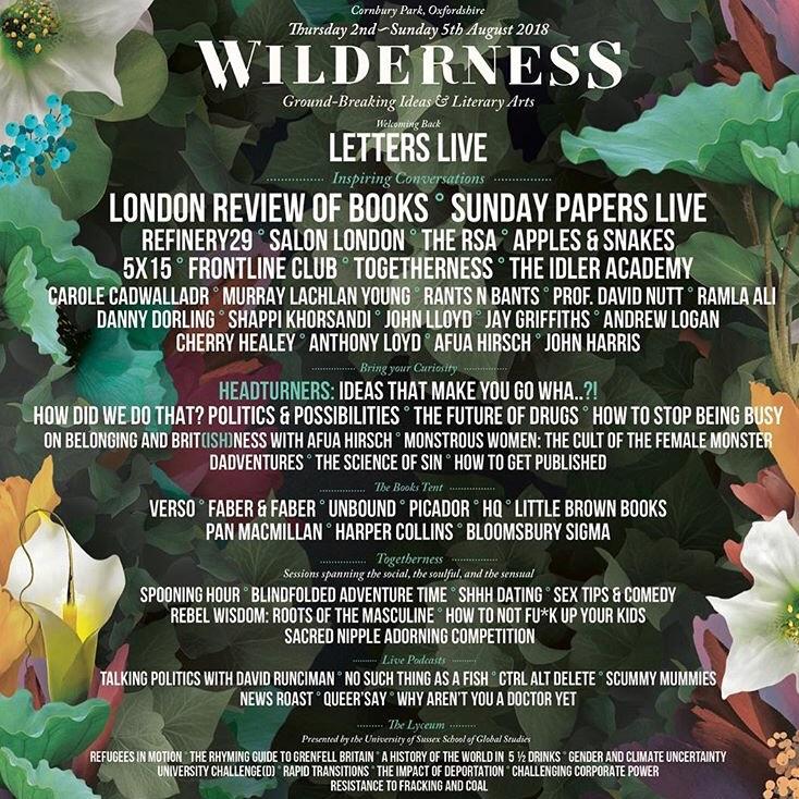 Wilderness General Camping ticket