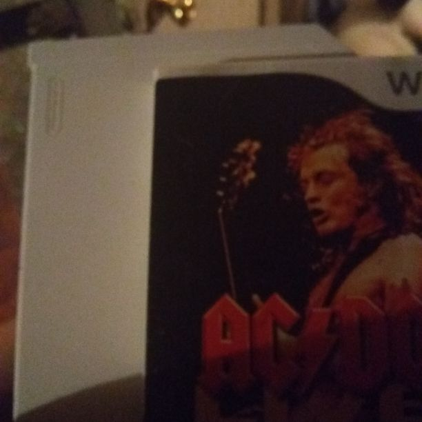 Wii and acdc game