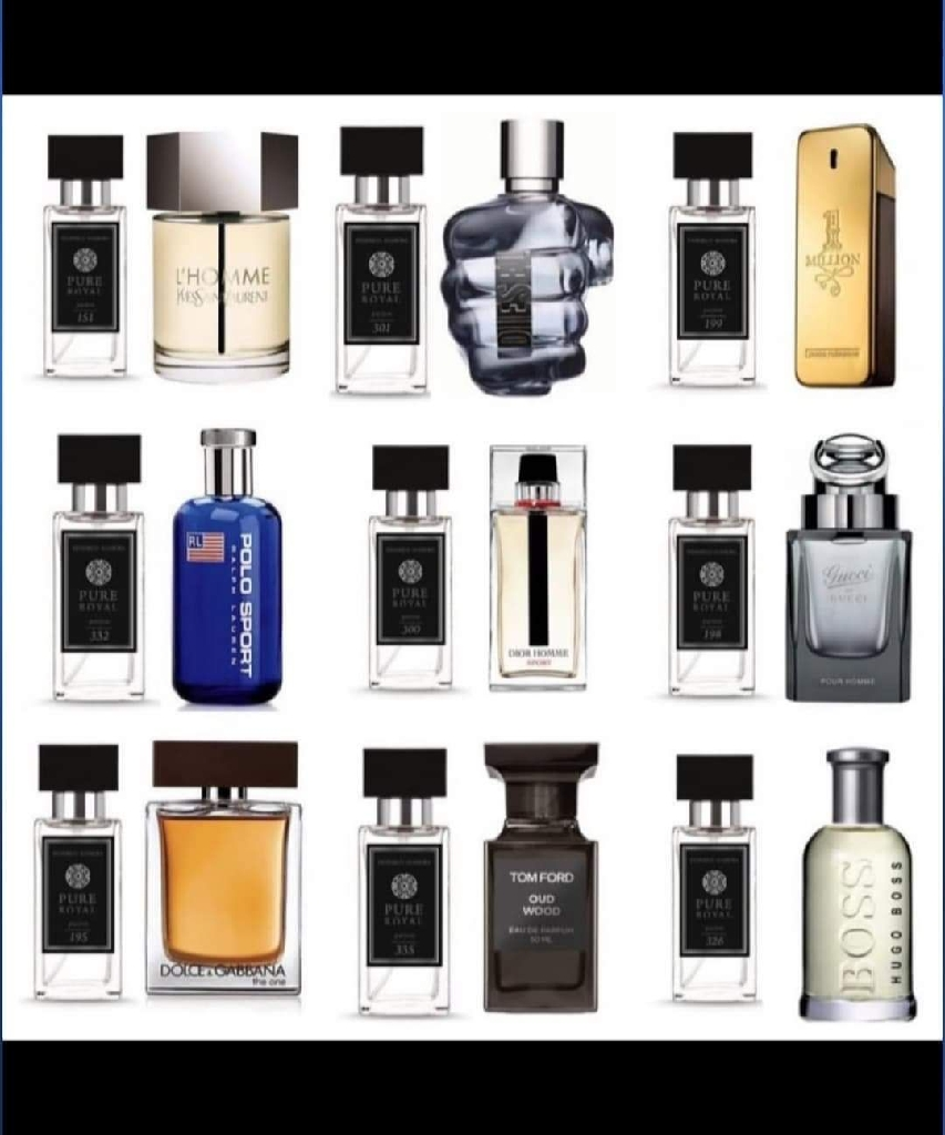 Men's aftershave and perfume