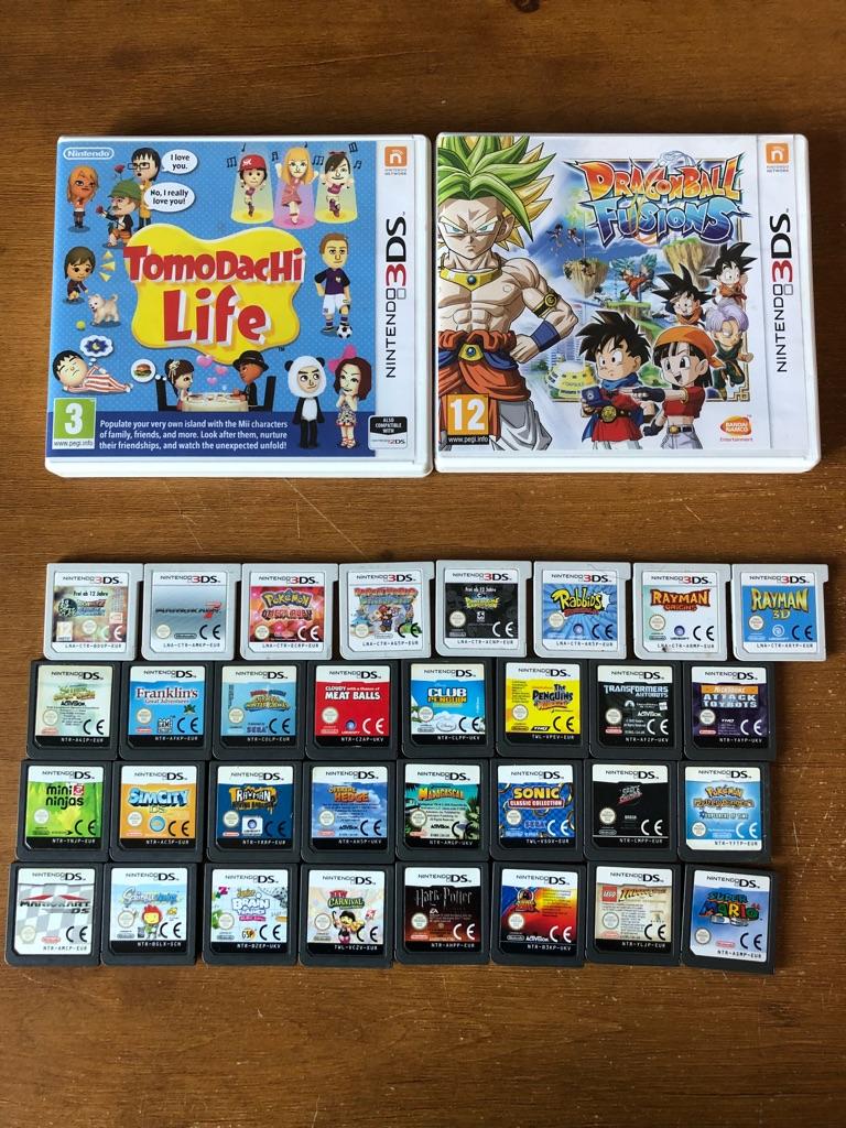 Nintendo 3DS XL Console 34 Games
