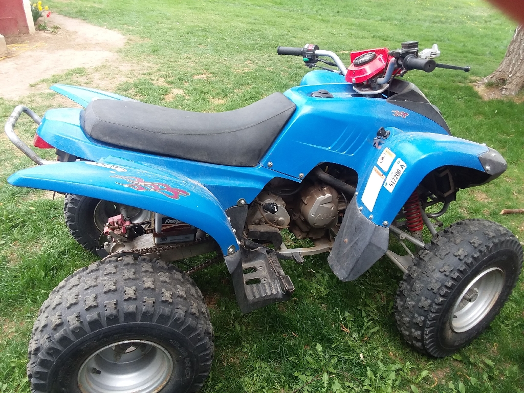 2007 Adly CX200R