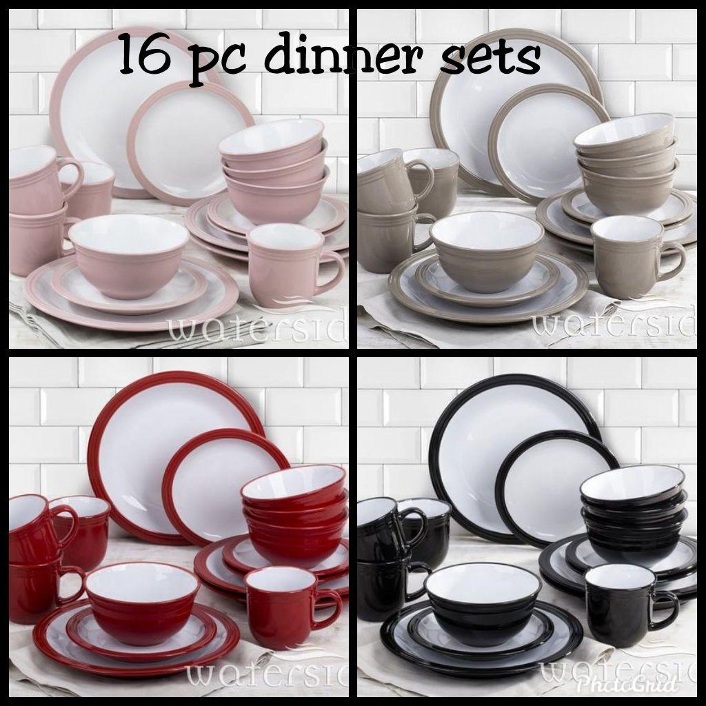 16 pc dinner sets