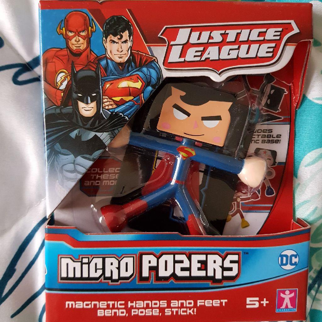 Brand new superman micro pozer