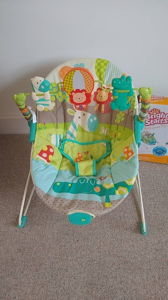 Bright Starts Up Up and Away Baby Bouncer