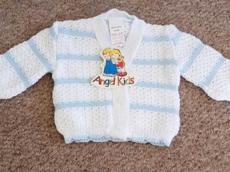 BNWT Boys Knitted Cardigan 6-9 Months