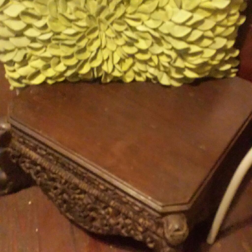 Vintage Hawaiian foot stool