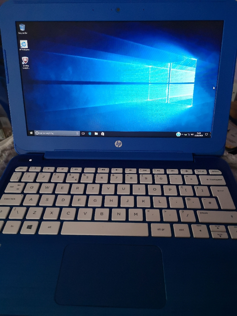 Hp notebook - Blue